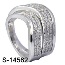 Fashion Wedding Ring with 925 Sterling Silver Jewellery (S-14562. JPG)